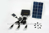 portable mini affordable solar panel system with charge fuction