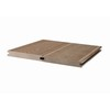 Hot sale solid WPC floor eco-friendly Solid composite decking rotproof wpc decking