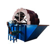Large Capacity Sand Washing Machine With Wheel bucket Type For Construction