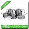 16PCS Hard Anodized Aluminum Non-Stick Cookware
