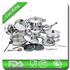 27Pcs Stainless Steel Non-stick Cookware Set
