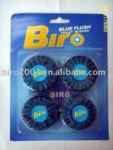 Blue Flush Toilet Blocks
