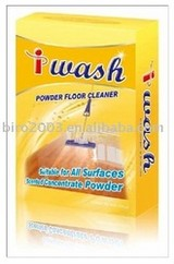 Floor cleaner powder