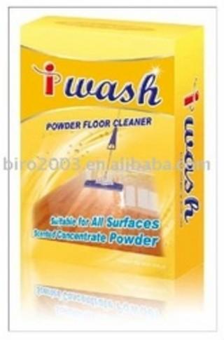 Floor cleaner powder