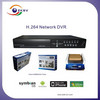 Home safety 4ch H.264 cctv 3G DVR support 2 HDD