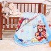 100% polyester super soft 2 ply baby blanket