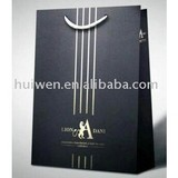 Daniel leather high quality paper bags made in China