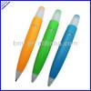 6321062 new model promotional plastic beautiful color pen , fat body plastic pen