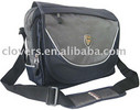 fashion long shoulder european school bag in black