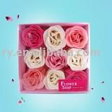 promotional bath Flower soap