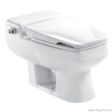 Hot sell One piece low tank quiet toilet bowl