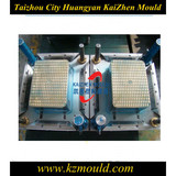 Good quality injection 2 cavity plastic square crate mould