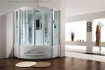 Bathroom SHOWER STEAM  Corner  Cabinet