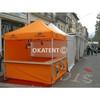 Orange Folding Gazebo 3x3m
