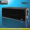 Pro line array speaker-W8LC