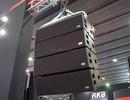 "Dual 8"" line array speaker box LA-208"