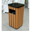 Outdoor Installation, Recycling Plastic Wood Litter Bin