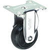 Light Duty - Black Rubber Caster (08 Series SR/HR)