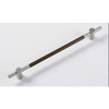 Bar handle/Bar pull,solid stainless steel,brushed