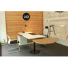 Modern office executive desk