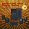 Home Theater Audio speaker 5.1 digital passive powerful surround sound