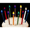 12Pcs Color flame birthday candle set