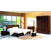 Modern Style Panel Bedroom Furniture,MDF bed, Wardrobe,Dresser, Mirror