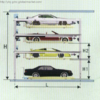 PSH Four Layers Lifting and Sliding Mechanical Parking System