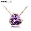 2013 Zirconia Mood pendant necklace fashion jewelry