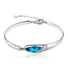 Glass shoes Austria crystal bracelet