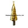 Cutting tools with coating HSS step drill