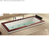 Luxury Drop-in Massage Bathtub
