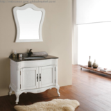 European Style Classical Solid Wood Bathroom Cabinet