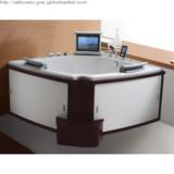 Luxury Whirlpool Bathtub with LCD TV