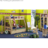 Quality Pine Solid Wood Kids Bedroom Bed