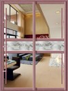 Aluminum Sliding Door Profile/Aluminum Interior Door/Powder Coating