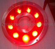 27W underwater fountain lamps, fountain lamps, outdoor water features