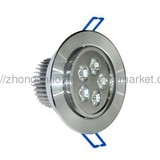 5w led downlights, led house lights, recessed downlight.