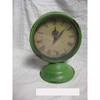 Antique metal clock for home decoration