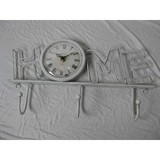 Delicate  Paris  metal  clock with home type