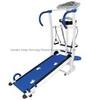 Fashion 100KG manual treadmill with elastic band, HOME USE