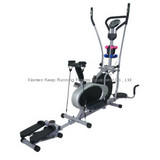Multifunctional orbitrac bike, cross trainer, air exercise bike