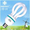 65W 17mm 4U Lotus Energy Saving bulbs manufacturers in china