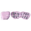 Folding Leather Case Manicure Set