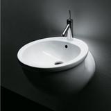 Ceramic Basin, Wall Hung Basin, Matching with Similar Toilet and Bidet