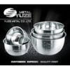 Stainless Steel Cookware, Mixing Bowl, Salad Bowl, Measurement Marking
