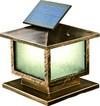 Long Lifespan Solar Wall Light, LED, Outdoor Wall Lamp