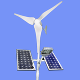 300w 400w 600w Small Wind Turbine Home Solar Panel Hybrid System