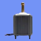 Permanent Magnet Alternator Generator 2kw/2000w Effsun Patent
