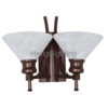 wall lamp(metal+Glass shade)